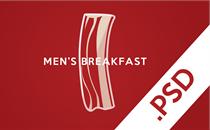 Men's Breakfast(HD) .Psd