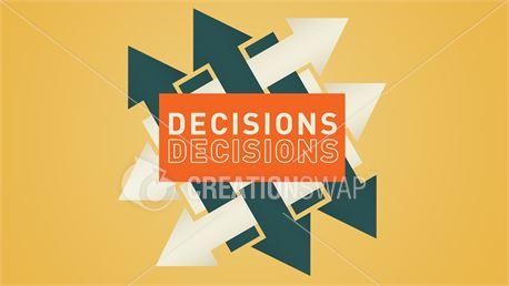 Decisions, Decisions (20315)