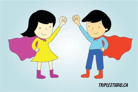 Superman and superwoman (20327)