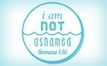 I Am Not Ashamed Baptism Logo (20404)