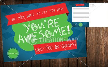 You're Awesome: Kids Postcard (20934)