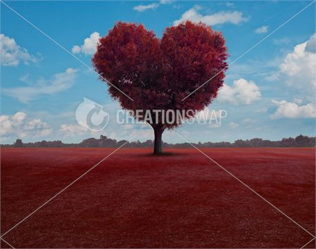 Red Heart Tree (21189)