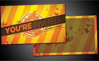 Fall Fest Invite Cards
