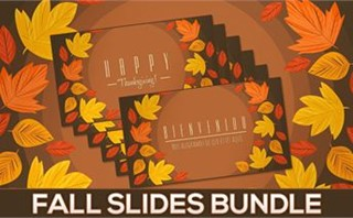 Fall Slides Bundle