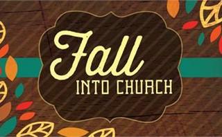 Fall Into Church Slides