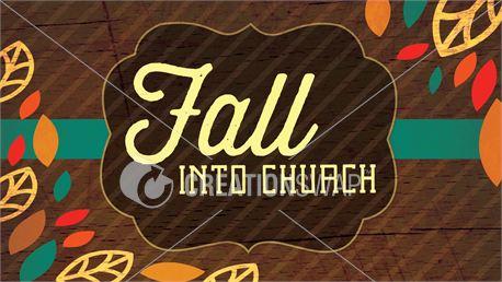 Fall Into Church Slides (21567)