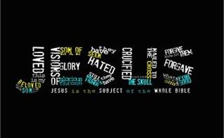 Jesus typography