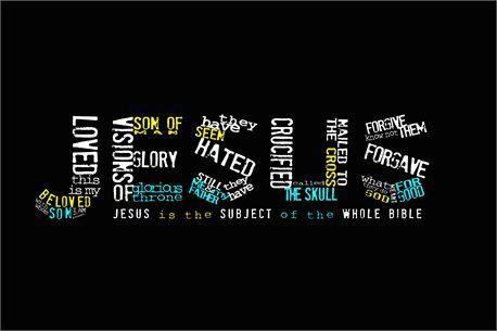 Jesus typography (21890)