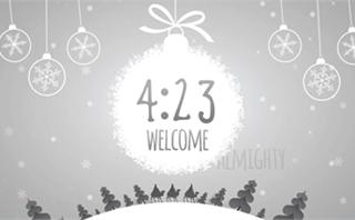 Winter Wonderland Countdown