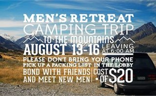 Men's Camping Retreat