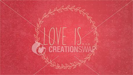 Love Is Slides (22581)