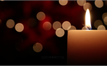 Christmas Candles (22764)