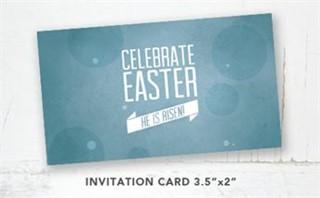 He is Risen! Invitation Card