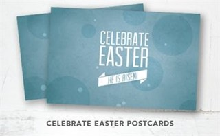 He is Risen! Postcards