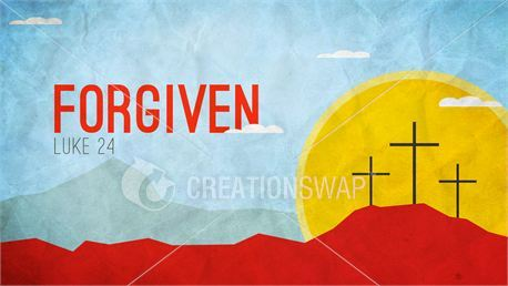 Easter Slides - Forgiven (22846)