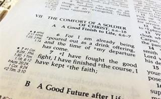 2 Timothy 4: 6-7