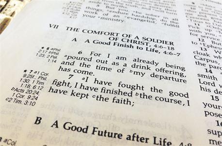 2 Timothy 4: 6-7 (22911)