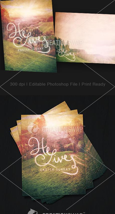 He Lives Postcards (22922)