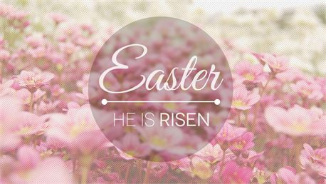 Easter - He is Risen (23010)