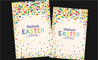 Easter Dots Postcards