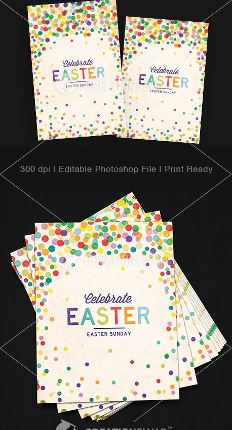 Easter Dots Postcards (23103)