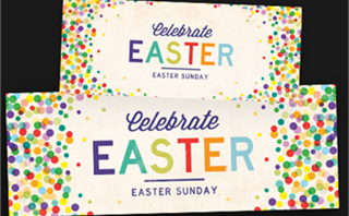 Easter Dots Banners