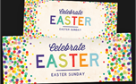 Easter Dots Banners (23108)