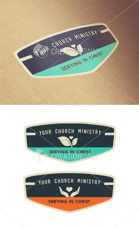 Serving In Christ Logos (23234)