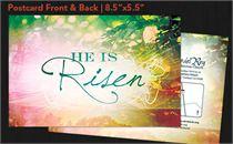 He Is Risen Sunrise Postcard