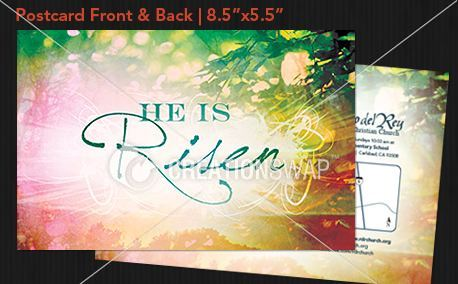 He Is Risen Sunrise Postcard (23293)