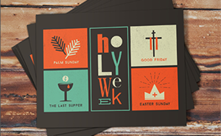 Holy Week Postcards