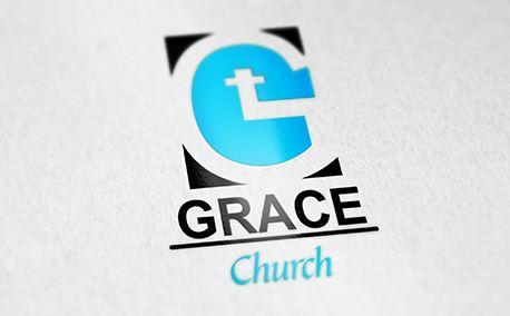 Grace Logo Church (23443)
