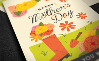 Mother's Day Invitation Cards