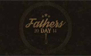 Retro Father's Day Logo