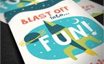 Space Adventures Invite Cards (24000)