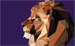 Polygon Lion (24155)