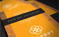Church Welcome Invite Cards