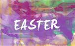 Easter invitation postcard (24460)