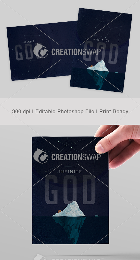 Infinite God Postcards (24759)