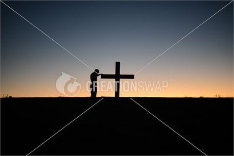 by the cross (25194)