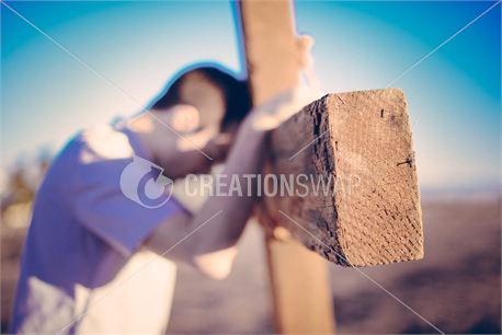 Head on cross (25238)