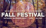 Fall Festival Postcard (25452)