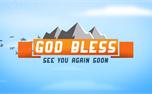 Blue Skies God Bless (25521)
