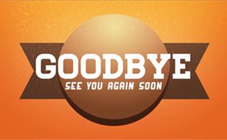 Brown Sphere Goodbye