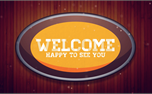 Fall Mirror Welcome (25635)
