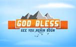 Blue Skies God Bless (25646)
