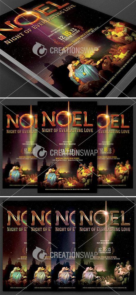 Noel Christmas Cantata Flyer (25821)