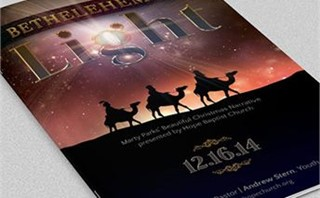 Bethlehem Christmas Bulletin