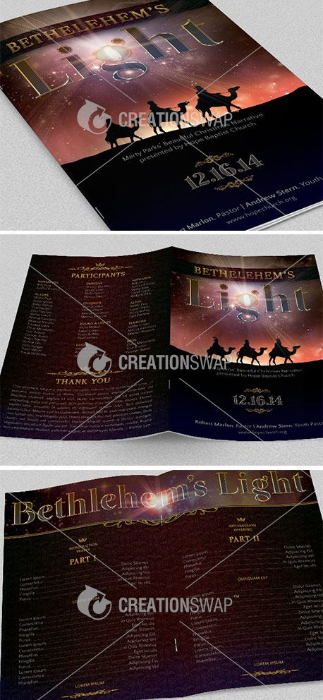 Bethlehem Christmas Bulletin (25826)