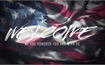 American Flag Welcome (25955)